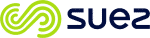 Le logo officiel de Suez.