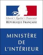 Ler logo officiel du ministère de l'intérieur.