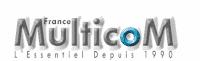 Le logo Multicom France.